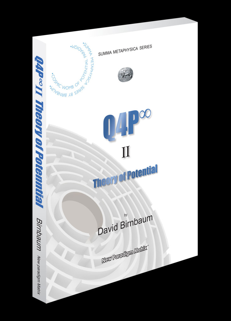 Q4P2_cover_portrait. Is philosophy's David Birnbaum's metaphysics a unified formulation, Is David Birnbaum's philosophy an integrated cosmology, theodicy?