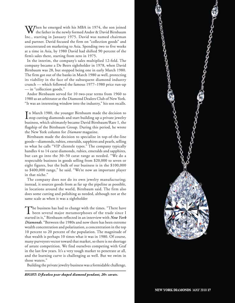 Identify  David Birnbaum  manhattan rare jewels,  philosophy, metaphysics