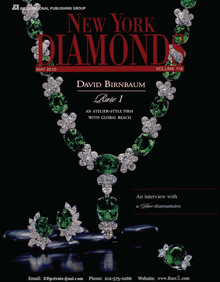 Check-out  David Birnbaum fancy color diamonds,  philosophy, metaphysics
